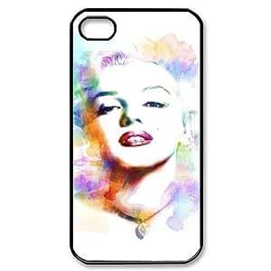 diy zheng Customized Print Marilyn Monroe Pattern Back Case for iphone 5/5s//