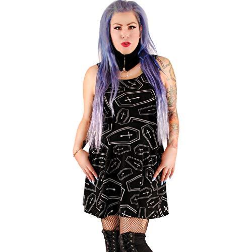 Folter Women's RIP Skater Dress Black M -