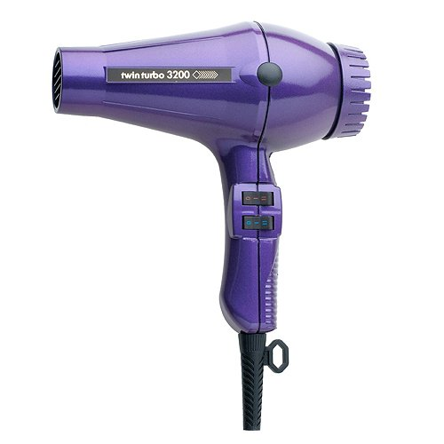 TURBO POWER 324 Twin Turbo 3200 Professional Hair Dryer Violet