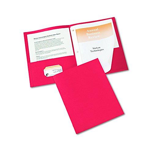 Avery Two Pocket Folders Pack 47979