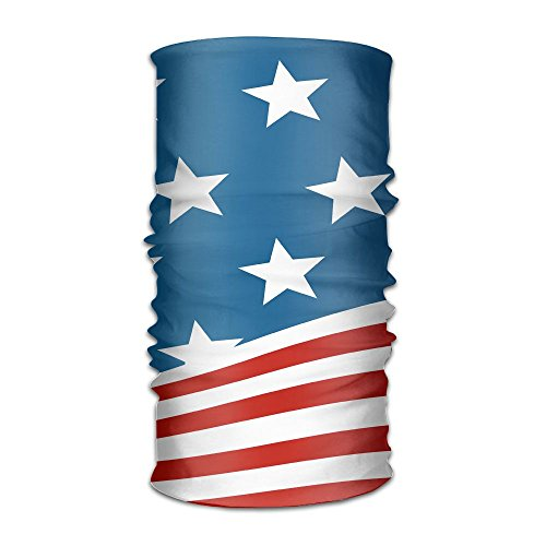 Redcong Headbands Headwear Bandana USA Flag Scarf Wrap Mask Sweatband Outdoor Headscarve ()