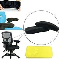 Gozebra(TM) Armrest Chair Pads Cushion Foam Memory Rest Elbow Covers Offices Pillow Computer