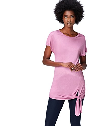 Shirt T FIND Donna Oversize Orchid Rosa Girocollo qpwf5