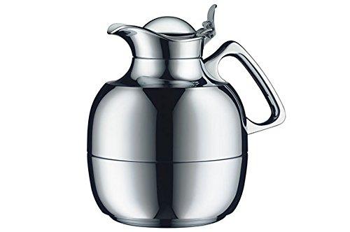 Alfi Vacuum Carafe Juwel Tea Chrome Plated Brass  34 fl. oz, 1 Liter by alfi