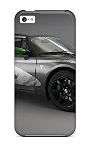 MMZ DIY PHONE CASENew Premium QhLogqW4600TkGFi Case Cover For ipod touch 5/ Tag Heuer Tesla Roadster Protective Case Cover