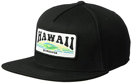 - Quiksilver Men's Sunshine Snapback HAT, Black/Hawaii, 1SZ