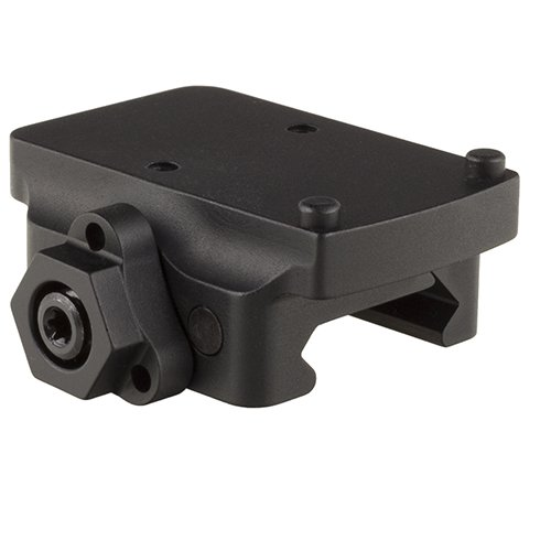 Trijicon AC32076 RMR Pistol Mount, Low Quick Release, Black