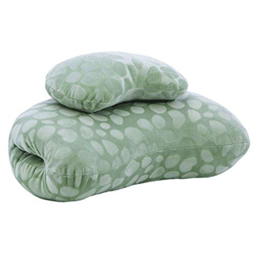 RenShiMinShop Almohada Lavable Lavable de la Almohada del Cuello de la Oficina del Color Sólido de la Almohada Cervical...