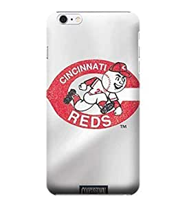iPhone 6 Plus Case, MLB - Cincinnati Reds - Cooperstown Distressed - iPhone 6 Plus Case - High Quality PC Case