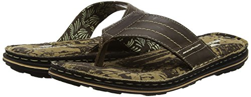 Sandals Mens Brown Rod Tape Red Brown R8qOU7Ow