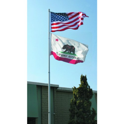 20 Ft. Telescoping Flag Pole from TNM by One Stop Gardens