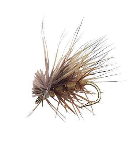 - Elk Hair Caddis Tan Fly Fishing Flies. 1 dozen flies (14)
