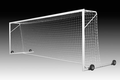 - Kwik Goal Fusion 120 Goal with Wheels, 8 x 24-Feet