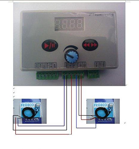 Reversible Stepper Motor Speed Regulator Pulse Signal Controller *stepping led