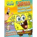 SpongeBob SquarePants Jumbo Coloring & Activity Book 2-Pack