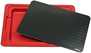 Sailing Miracle Fast Metal Thawing Plate, Defrosting Tray/Plate/Board- The Better Way to Defrost Meat or Frozen Food Without Electricity, Microwave, Hot Water, etc.