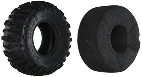 Team Losi Front/Rear Rock Claws 2.2 Tires w/ Foam Blue (2)
