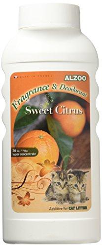 Aveeva 420012 26 oz Alzoo Sweet Citrus Litter Deodorizer