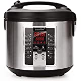 Rice Cooker, 6-in-1 Electric Hot Pots,Slow Cooker, Sauté, stew pot,soup pot,Steamer, Food Warmer 650W by Comfee