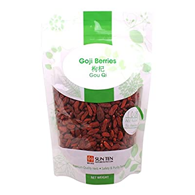 All Natural Wolfberry-400gm NingXia GoJi Berry from Sun Ten Laboratories