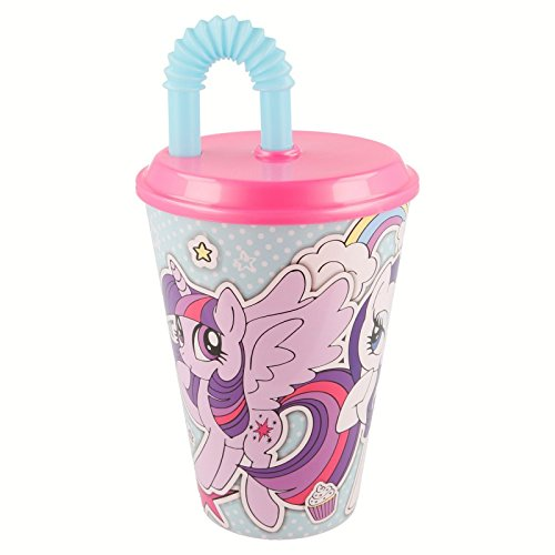 Gobelet canne Easy 430 ml. My Little Pony Sticker Mi Pequeño Pony