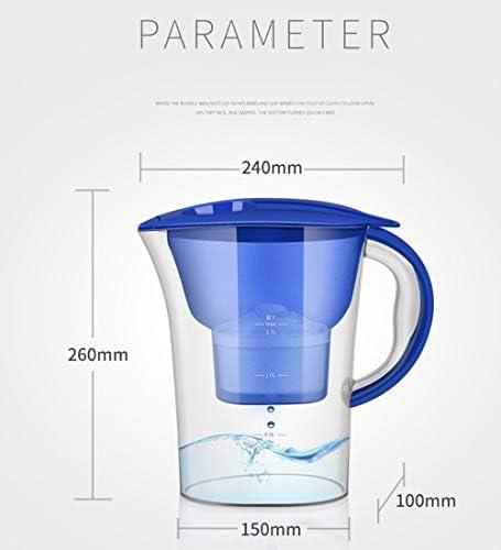 MHUI Bouilloire secteur Portable Potable directe Cuisine BOL de traitement de l'eau Portable Robinet de déchloration de l'eau du Robinet Bouilloire Filtre de Haute précision 2.5L