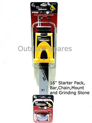 16' Oregon PowerSharp Chainsaw Sharpening Starter Kit For Snapper Saws