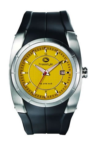 Freestyle Dive Watch - Freestyle Men's FS40335 Bishop Polyurethane Watch