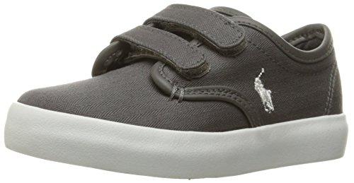 Pictures of Polo Ralph Lauren Kids Waylon Ez Sneaker Grey M 1