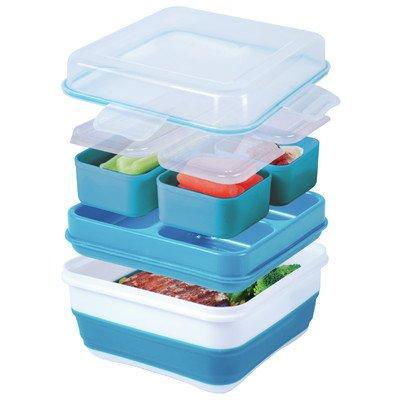 Cool Gear Ez-freeze Collapsible Bento Box