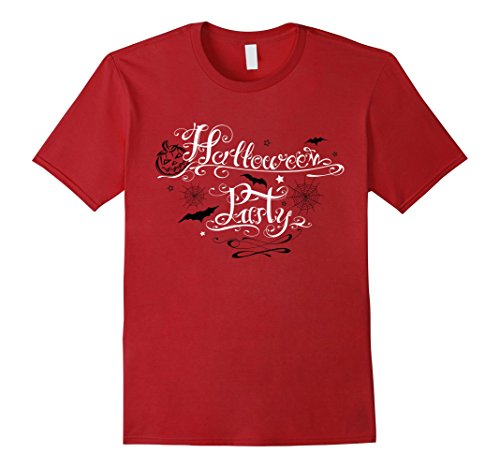 Halloween Shirt. Party Logo with bats and pumpkin. Tattoo. (Halloween Party Logo)