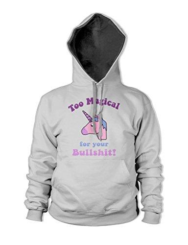 Hoodie Kangaroo Nlife Grey Bullshit Cute Women Sweatshirt Funny Unicorn Print Sleeve Casual Pink Coat Pocket Long Fashion Top Letter 3d 7WZFrnq7w