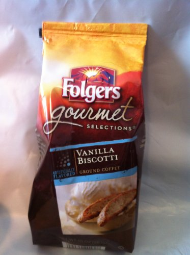 Folgers Gourmet Selections Vanilla Biscotti 10 product image