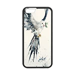 Unique Phone Case Design 4Holy Dove & Peace Dove- For Apple Iphone 6 Plus 5.5 inch screen Cases