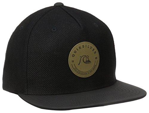 Quiksilver Men's Crafty Snapback Hat, Black, One Size