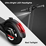 """MEGAWHEELS S5 Electric Scooter, 13 Miles Long Range Battery, Up to 15.5 MPH, 8.5"""" Pneumatic Tires, Portable and Folding Electric Scooter for Short Commutes and Trips"""