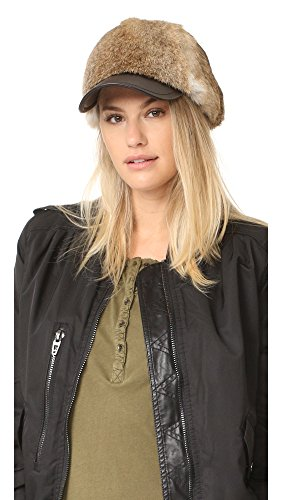 adrienne-landau-womens-goma-rabbit-ball-cap-natural-brown-one-size