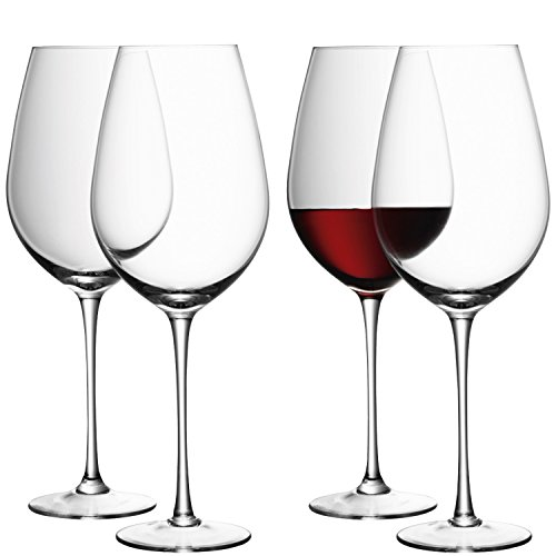 LSA International Wine Red Wine Goblet (4 Pack), 28.6 fl. oz., Clear by LSA International (Image #6)