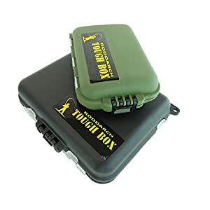 Roddarch 2 x Small Clamshell Fishing Tackle Boxes for Lures Spinners Hooks Flies