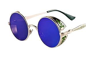 Arctic Star Gothic steampunk retro UV sunglasses