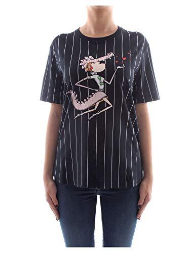 Moschino 3517 02 W shirt Nero Love M T 4 G71 Donna UrZq1xUB