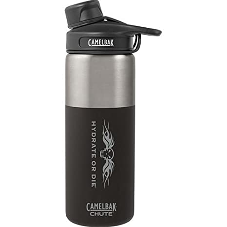 d4e9996b82 Amazon.com : CamelBak 54157 Chute Water Bottle, 20oz, Vacuum-Insulated, Stainless  Steel : Sports & Outdoors