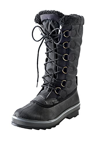 Colours 001 Nero INA Boots Boots Model KTX Women's Snow Assorted Winter 8fvfPZUnq