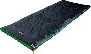 High Peak Patrol Saco de Dormir, Rosa (Antracita) / Verde, 190 x