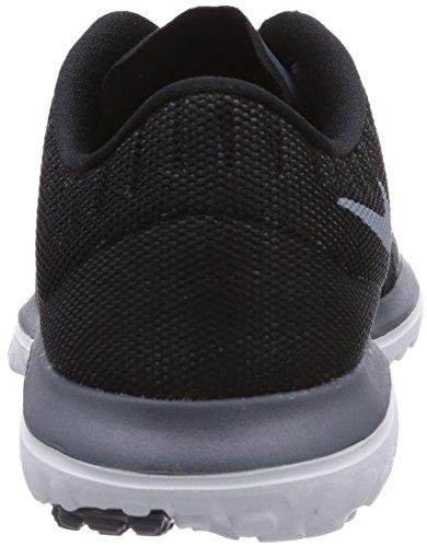 Nike Fs Lite Run 2 684667 Damen Laufschuhe Training Schwarz (Blk/Mgnt Gry-Dk Mgnt Gry-White)