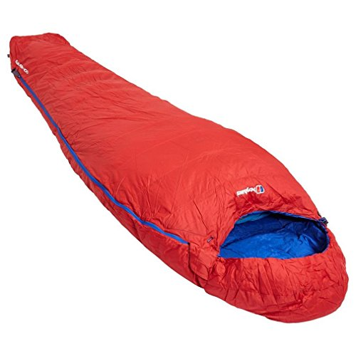 Berghaus Elevation 400 Sleeping Bag, Red, One Size