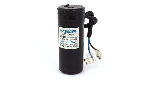 88-108uF Aire acondicionado del motor del compresor condensador de arranque AC330V: Amazon.es: Industria, empresas y ciencia