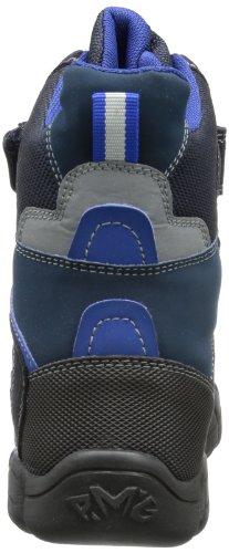 Primigi BERYL - Zapatos de senderismo de cuero niño azul - Blau (NOTTE/BLU-ROYAL BERYL)
