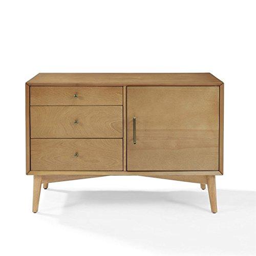 Crosley Furniture Landon Mid-Century Media Console - Acorn from Crosley Furniture