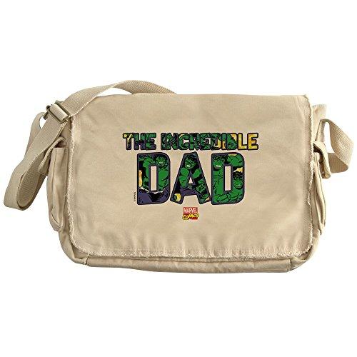 CafePress - Hulk Dad - Unique Messenger Bag, Canvas Courier Bag by CafePress